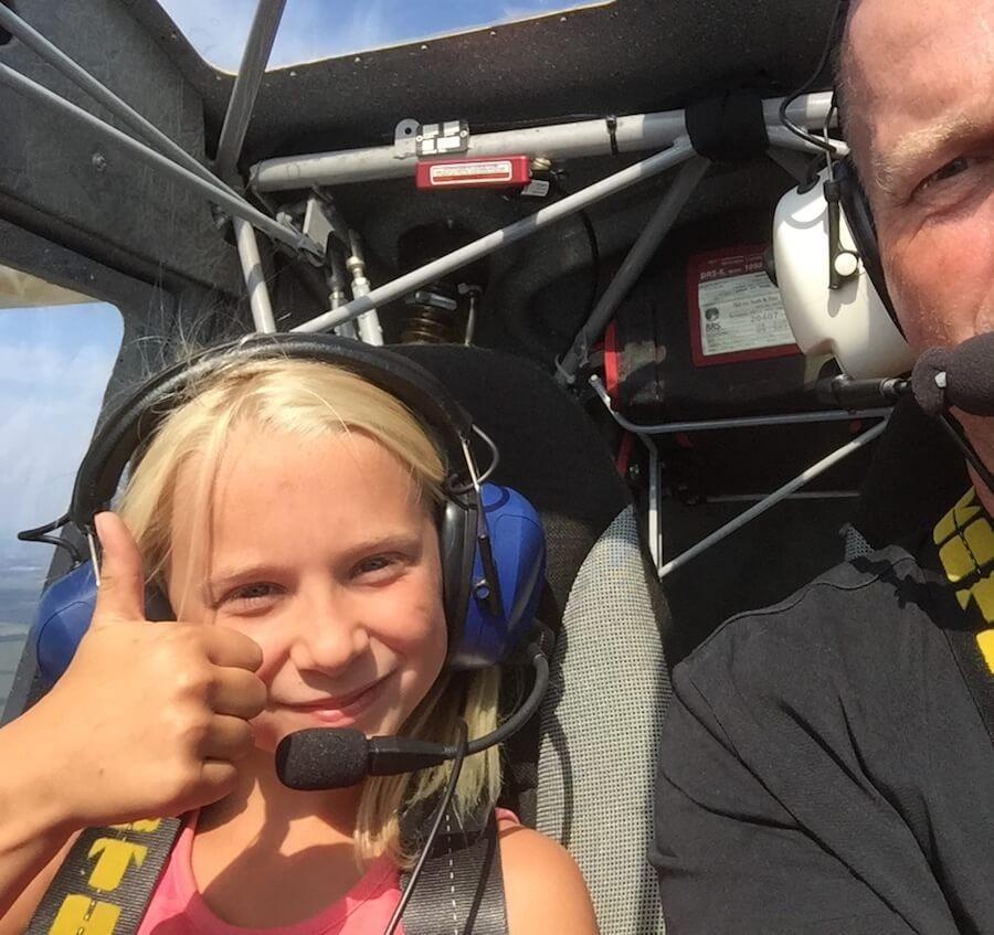 UL-Rundflug über die ostfriesischen Inseln