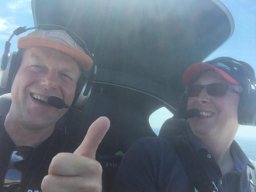 Fliegen macht Spaß - Flugausbildung