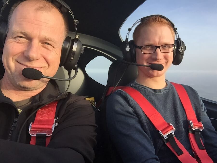 Pilotenschein - Flugstunde mit dem Fluglehrer