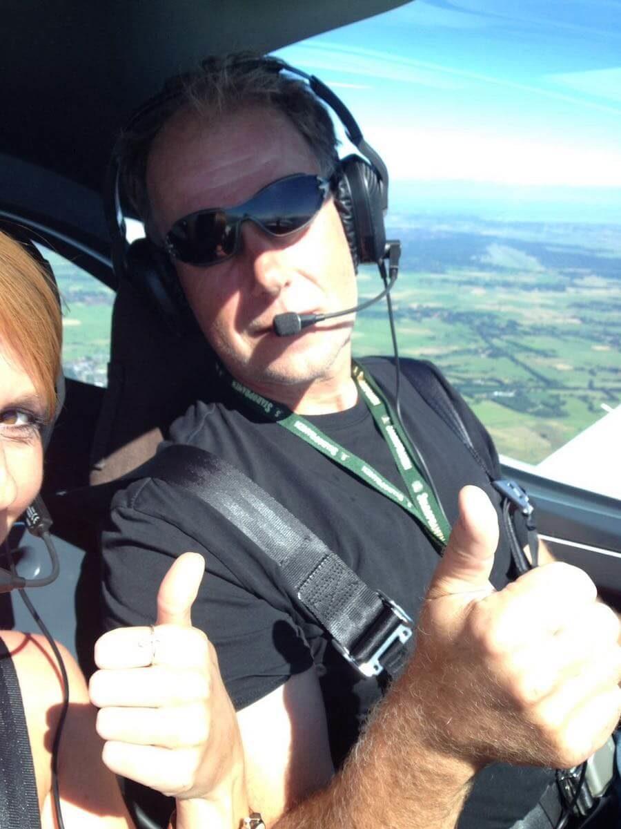 UL-Fliegen - Rundflug über Emsland und Haren (Ems)