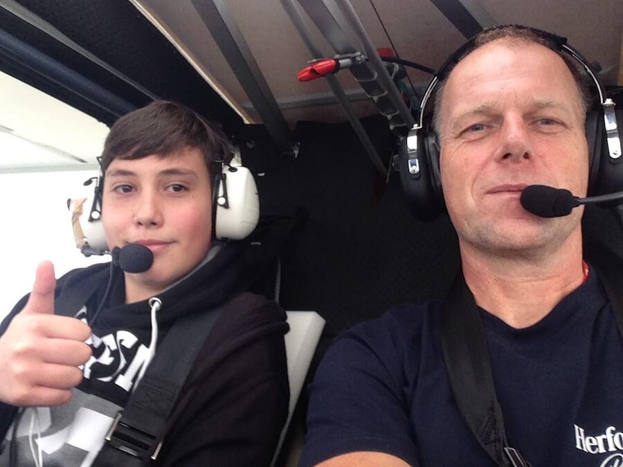 Rundflug mit UL über Ostfriesland