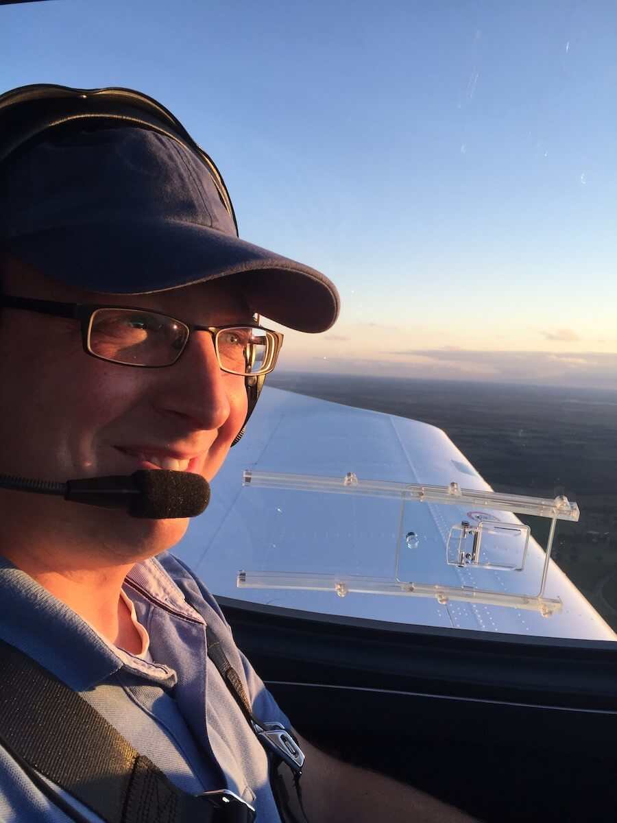 Pilotenausbildung - Bristell fliegen
