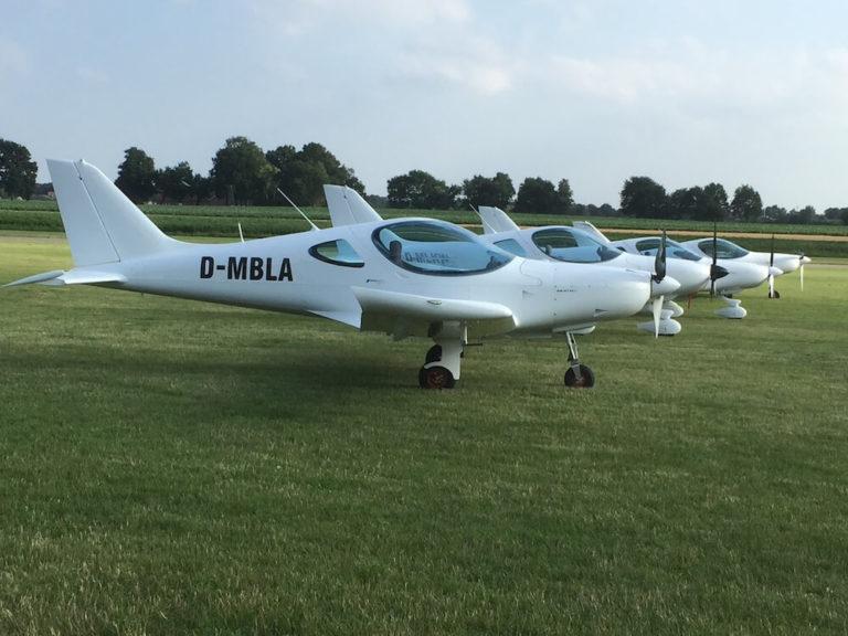 Bristell-fliegen - UL-Flugzeuge