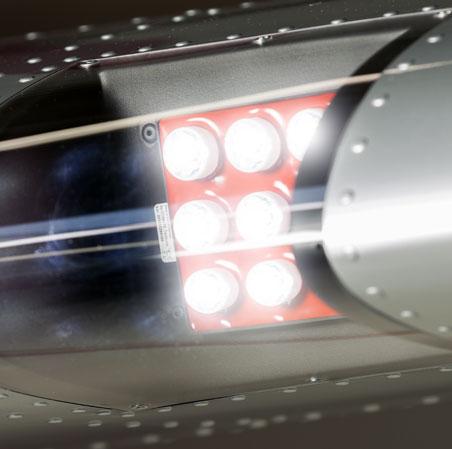 Bristell Landing Lights